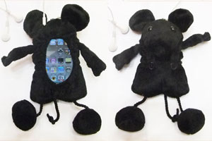ネズミのスマートフォンケースとiPodtouchケース